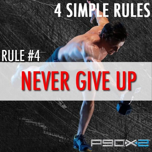 Rule 4: NEVER GIVE UP! You can do this! #BRINGIT http://t.co/lbErngxHrF http://t.co/9IbEzW7381