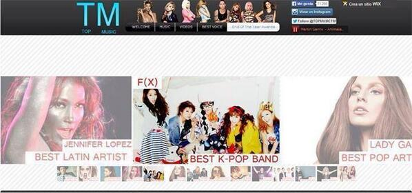 """[AWARD] 140404 f(x) won """"Best kpop band"""" at TOP MUSIC end of year award. http://t.co/WjWXsfLn3g via : fxmalaysia"""