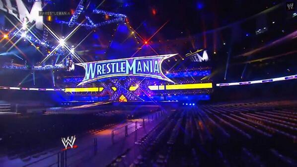 The Reveal Of The #WrestleMania30 Stage & Arena! http://t.co/SVx8UkHlqJ