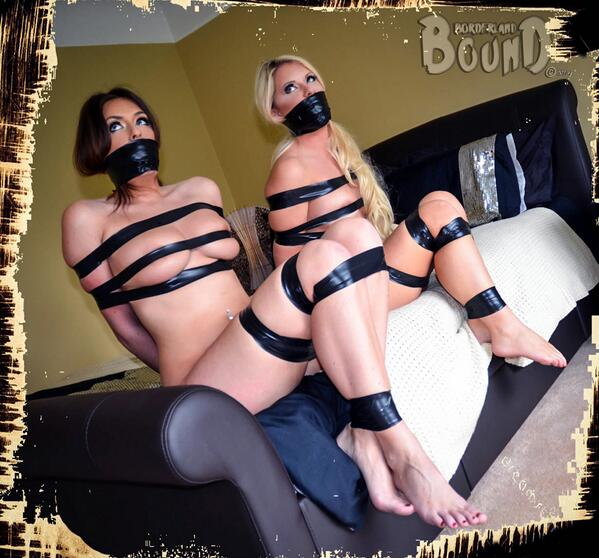 BorderlandBound (@Borderland7): Here you go @MikaelaPBTV you #gorgeous #blonde #bondage #lover have some o' that in your lovely life! #nude #tapedup http://t.co/Zu4NfWLnHL