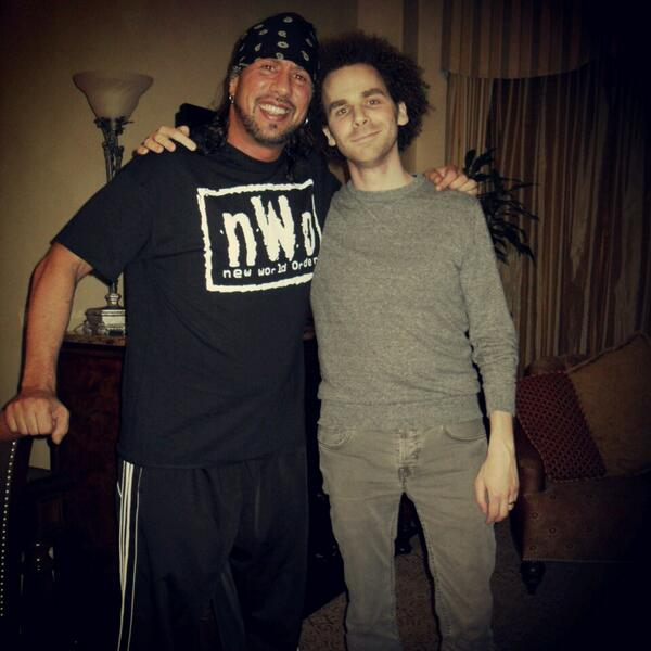@TheRealXPac @notsam in New Orleans  #WrestleMania http://t.co/RtrKjl4xOe