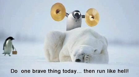 :o) RT @grumpyOldDuck  Today do something so great it SCARES you! http://t.co/3PUcmb0dU6 via @dekebridges