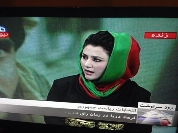 So proud of all Afghans who voted and supported the vote today, you are my heroes!!! ..Great coverage by Afghan media http://t.co/ptrIkjiIPj