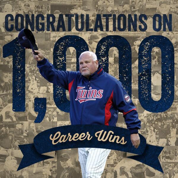 Retweet to congrat Gardy on win number 1,000! #Gardy1K http://t.co/EzNc2IwQs3