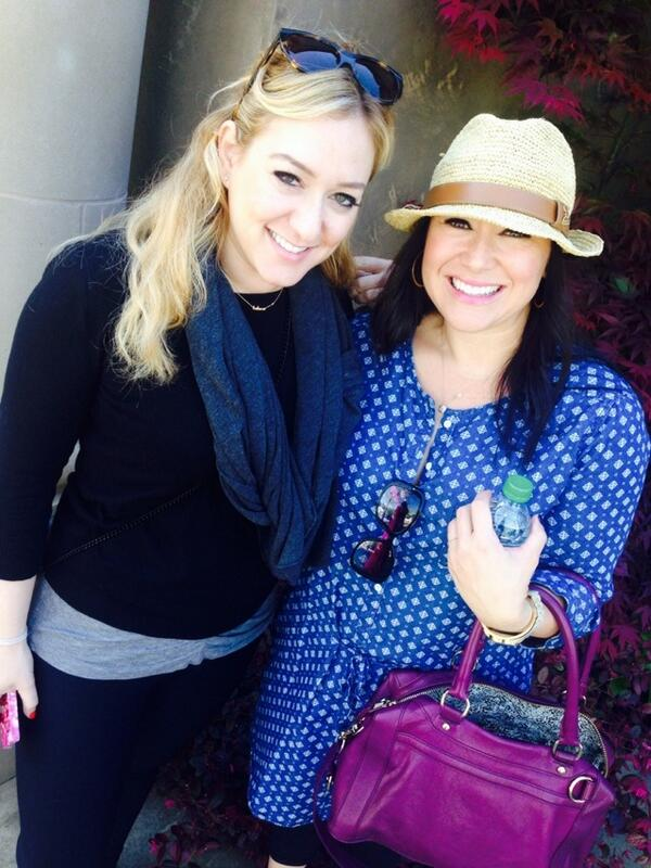 At the Francis Ford Coppola Winery with my BBBFF's!!! @Glambr @JuliaConey #grapecrushtour2014 http://t.co/4JRHNcFDPF