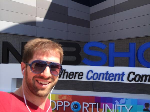 #NABShow badge pick! Ready to wow! http://t.co/CyLAC1sXXE