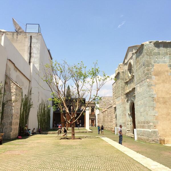 Felicidades a @MauricioRochaI y @gappac por la recuperación e intervención del Centro Cultural San Pablo en Oaxaca http://t.co/314sZtNTEj