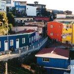 Desde el Cerro Bellavista #Valparaiso #Chile #Colores http://t.co/U4VonzsE5p