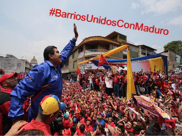 VTVCANAL8 (@VTVcanal8): ¡VAMOS TODOS! a participar con las etiquetas #BarriosUnidosConMaduro #BarriosUnidosConLaRevolucion http://t.co/rUHx4dR1zM