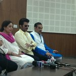 RT @SanjayTandonBJP: At a press conference at Punjab BJP Office, sector 37.@AnilKapoor @KirronKherBJP @AnupamPkher http://t.co/nMg7ntnSTl