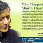 RT @FirozShaikhKhan: Aftr Rajiv Gandhi,he has charisma as well as a visual presence-LDF supporter endorsing @ @ShashiTharoor's candidature …