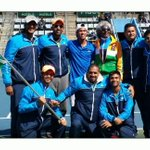 Creating history in Busan. India beating Korea in Korea for the first time ever. @DavisCup #WorldGroupCalling.