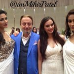RT @imMihirPatel: @evelyn_sharma With @Ileana_Official @NargisFakhri @AnupamPkher Looking Great... http://t.co/FAslQ343rc