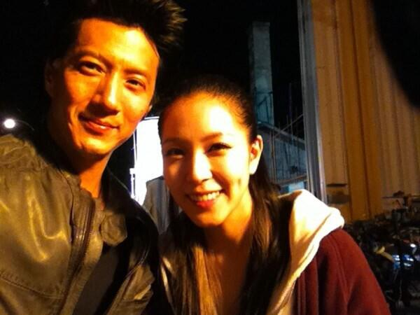 Loved making @MYMTheMovie with @BoAkwon ! 1 of the most humble and kindest people I've gotten a chance 2 work with. http://t.co/oJdzpGtZrU