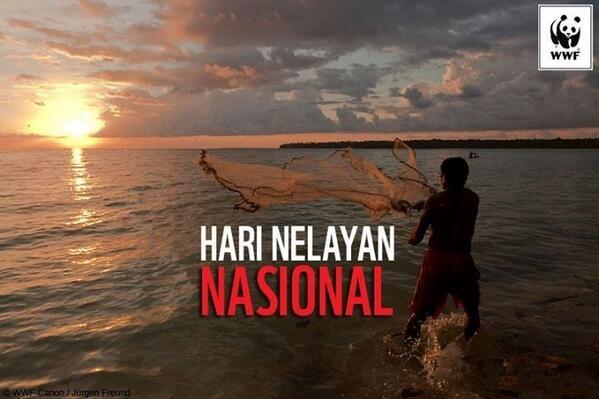Selamat Hari Nelayan Indonesia! Semoga terus maju nelayan kita