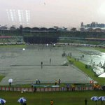 RT @gauravkalra75: Latest from ground courtesy @aryayuyutsu light drizzle he says