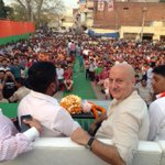 At Yuva Morcha Rally for @KirronKherBJP . http://t.co/hAZ6fIPPi7