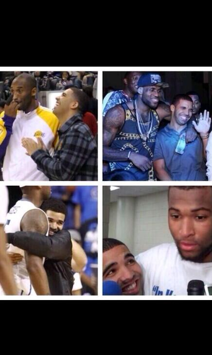 """@Cherries_OnTop: Drake Wanna Be A Basketball Wife So Bad"