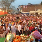 Public Rally at Mani Majra, Chandigarh.:) @KirronKherBJP http://t.co/sjzrS4fOVi