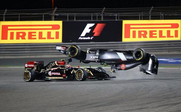 "Gutierrez attempting the ""Top Gun"" Maverick inversion with Mig!! #BahrainGP @NBCSN http://t.co/PiKDp2Nzn9"