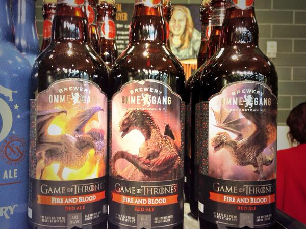 Raise your hand if you're prepared for @GameOfThrones tonight. Even @WholeFoods is ready. #FireAndBlood #soexcited http://t.co/rQvtpeV56Q