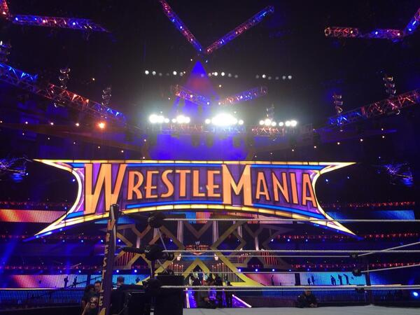 It's #wrestlemania Sunday! http://t.co/pLledcmqa0