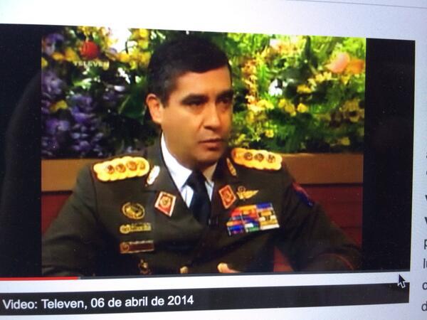 General RodriguezTorres q intentò asesinar a Flia d CAP en La Casona dice q VP y MCM promueven actos terroristas http://t.co/vDOoqFwqcd