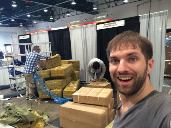 Long day... #nabshow #NABShow2014 #owldolly see you tomorrow. http://t.co/izpqVPl1jo