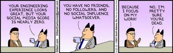 "What matters now..... RT @ValaAfshar ""You have no friends, no followers, and no social influence whatsoever."" http://t.co/KJM7OEsijc"