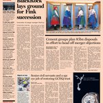 Front page of the Financial Times UK for Monday, 7 April http://t.co/tLHkDCVate