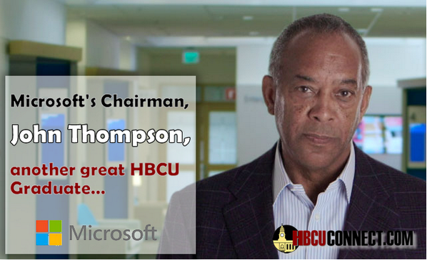 Did you know, the man that replaced Bill Gates @ Microsoft was an HBCU Graduate!? Check it out http://t.co/a5KiJOOdNY http://t.co/ozelzAfWN2