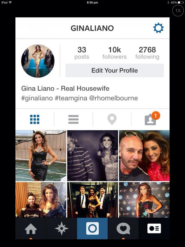 X 10,000 followers on Instagram. Thanks guys. Love your posts and comments. Love to you x #saynotobullying #teamgina http://t.co/jeN6J7Krn8