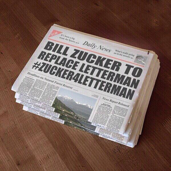 Could it really happen? #zucker4letterman http://t.co/53yBNO6iwz