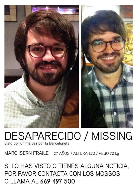 @policia hay un amigo de amigos desaparecido en Barcelona http://t.co/gIYLXHNgGw