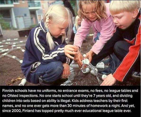 Education system in Finland: http://t.co/xY2c8W6ByZ