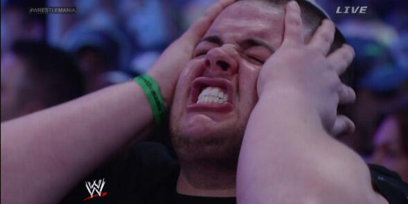 Every shocked & disappointed face from the Undertaker v. Brock Lesnar finish http://t.co/LcDdJMVcrO via @WithLeather http://t.co/7XZukt4AkT