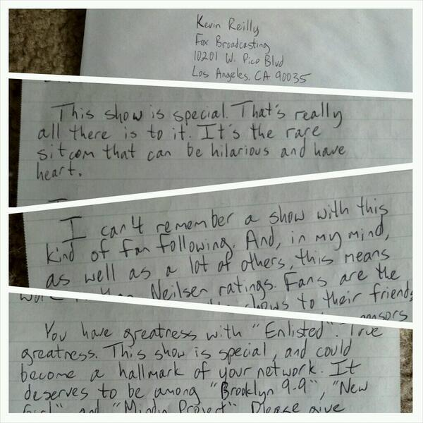 @kbiegel @MikeRoyce @EnlistedWriters Boom. My handwriting sucks #Enlisted http://t.co/Z0tVKUmPJX