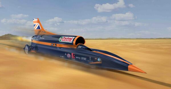 #BLOODHOUND SSC 0 - 1,000mph in 55 seconds. On target to begin high speed testing summer 2015. Pls retweet http://t.co/Y8aE3gDcCS