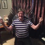 Not a spoiler, but the Iron Throne is MINE, I tell you. A Fry, unlike a Lannister, NEVER pays his debts. #GoTNOWTV