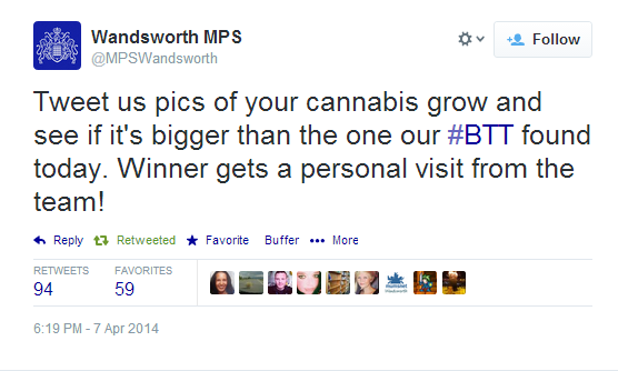 This is the best tweet from a police service I've seen for ages! Well done @MPSWandsworth! http://t.co/OvJ2bsHQoV