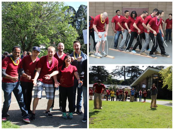 We had a blast last week playing team-building games with our peers! Some favorites: team skiing & potato sack races http://t.co/K4HcuXBP7Y