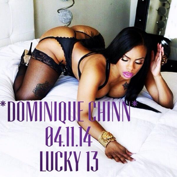 FRIDAY!! LUCKY 13 w/ @dominiquechinn & @LOUIVEEMYDJ http://t.co/duoJ7tSwNQ
