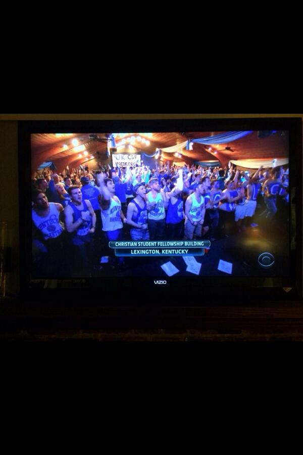 Our national television debut. Not too shabby. #BBNine #CSFonCBS http://t.co/eh2vmJ7cWR
