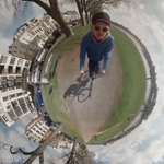 This wild video effect makes it look like you're on your own tiny little planet http://t.co/HDr9NVSSLm http://t.co/tq9tLu46Nq