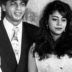 #Bollywood #Flashback - SRK with Gauri Khan.