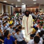 RT @AOLSwamiji: Gurudev @SriSri at Sri Sri Academy #SriSriInKolkata