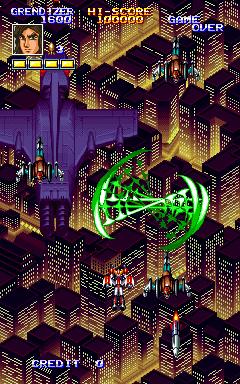 Mazinger Z (ARC). #マジンガーZ #arcade #16bit #shmups #90s #retrogaming #gaming #games #retro #Bandai #株式会社バンダイ http://t.co/T0vtr9P19y