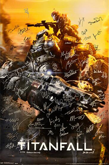 Wanna win a poster signed by the makers of Titanfall? Retweet for a chance to win! #TRUTitanfall http://t.co/byosQbO6U3