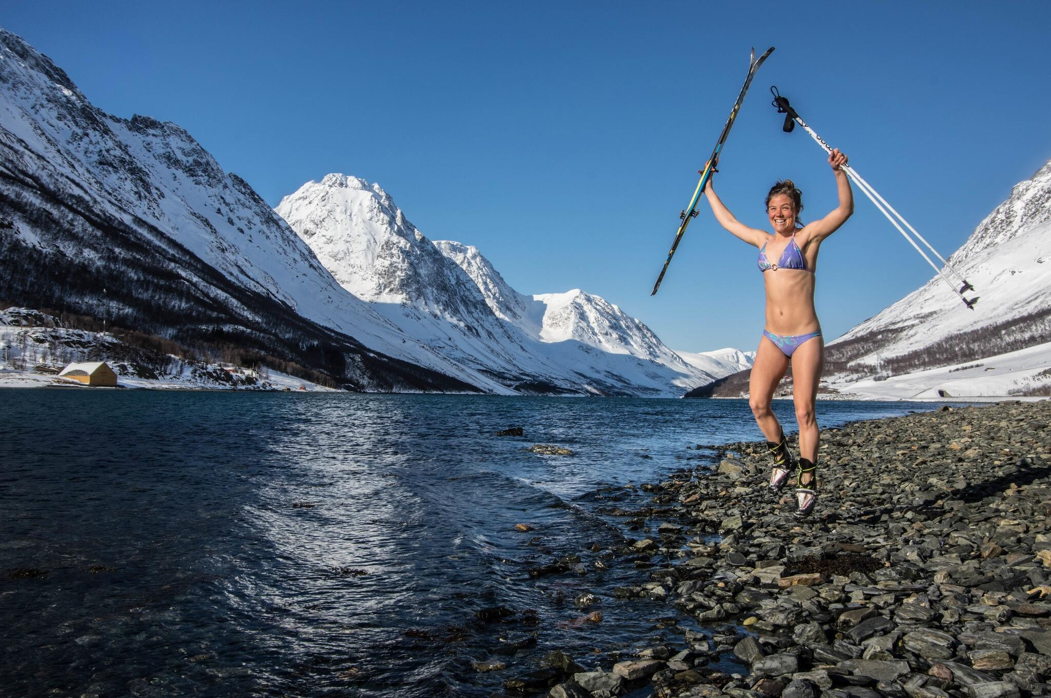 RT @TinaEmelie: It is spring! From summit to sea in #Lyngen ! http://t.co/fS9sIdJ0zt