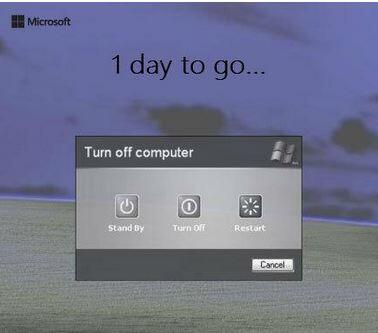مدحت عامر (@Medhat_Amer): بعد اقل من ٢٤ ساعة ستوقف #مايكروسوفت الدعم الفني ل  Windows Xp  كان من افضل أنظمة التشغيل حتى من Vista وندوز7 ! http://t.co/13XGXJpLiL